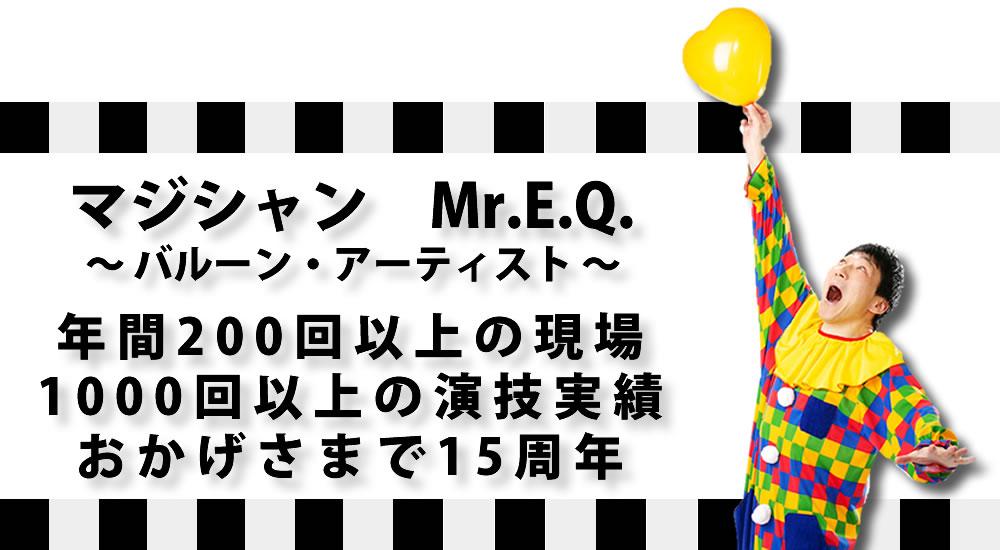 Mr.E.Q.プロフィールのイメージ画像